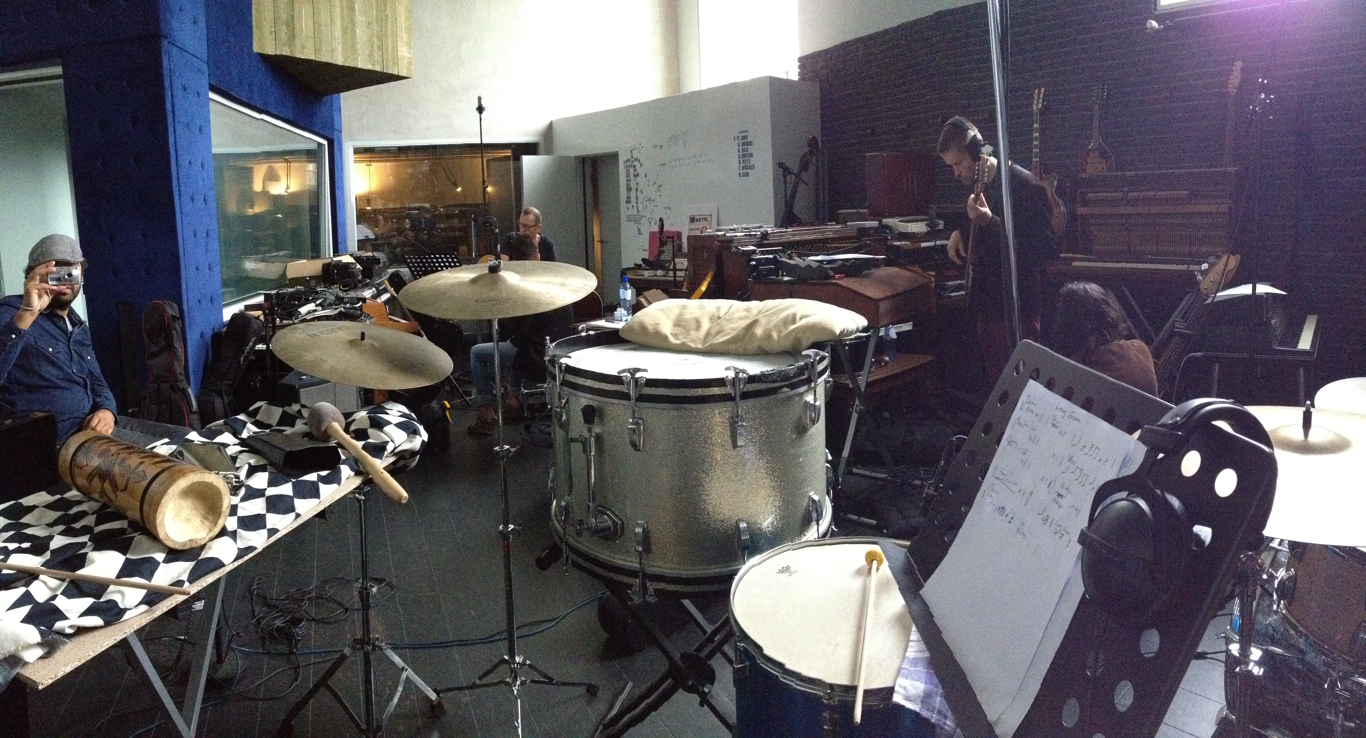 Chrch studio drums2
